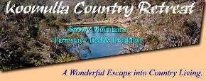Koomulla Country Retreat - Accommodation Whitsundays