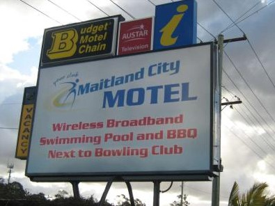 Maitland City Motel - Accommodation Whitsundays