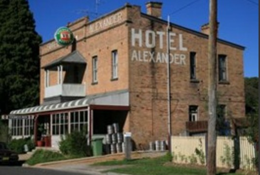 Alexander Hotel Rydal - Accommodation Whitsundays