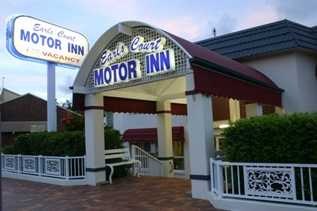 Earls Court Motor Inn - Accommodation Whitsundays