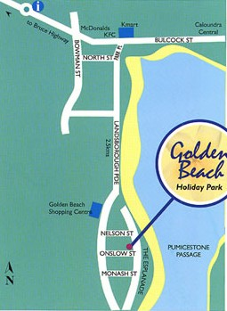 Golden Beach Holiday Park - Accommodation Whitsundays