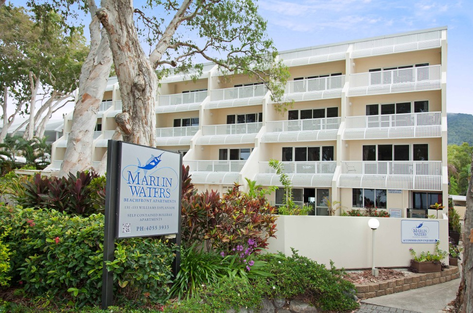 Marlin Waters Beachfront Apartments - Accommodation Whitsundays