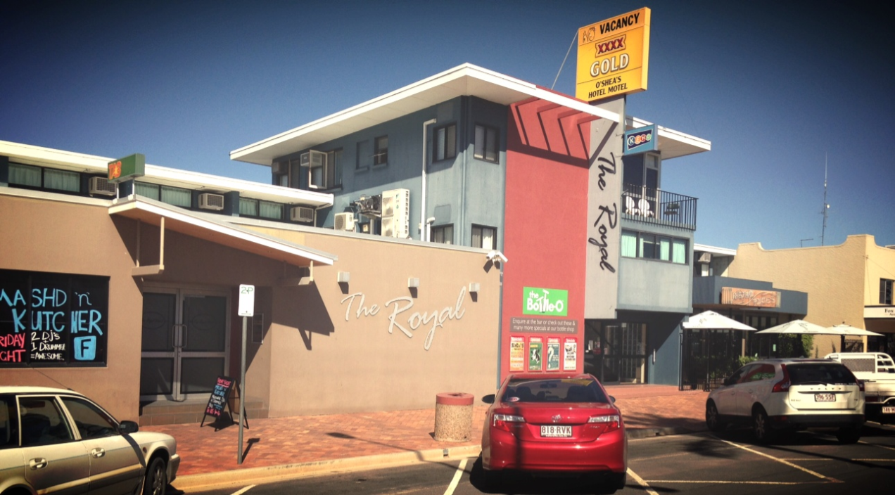 O'shea's Royal Hotel - Accommodation Whitsundays