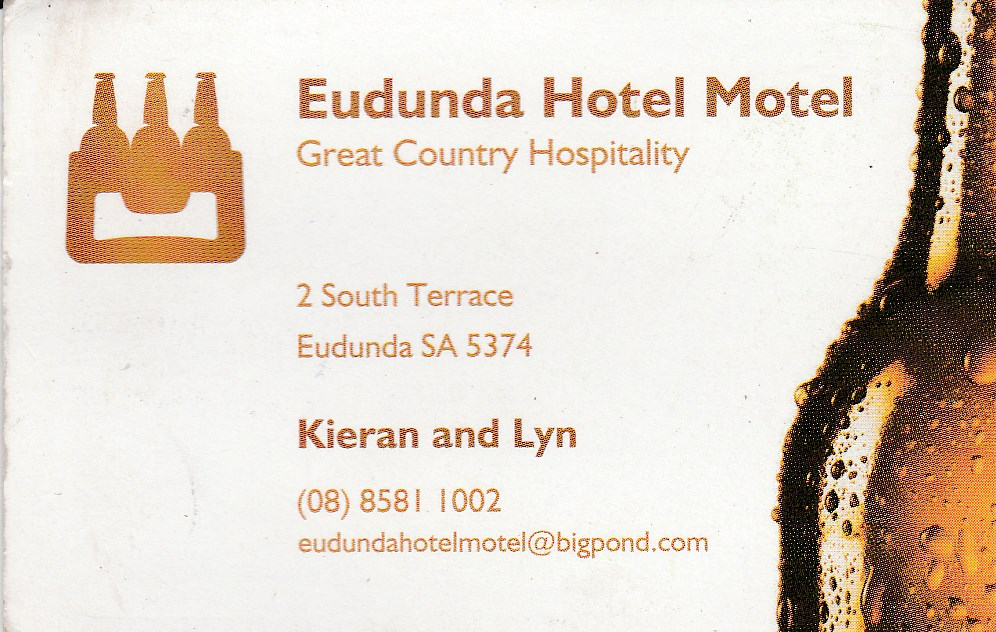 Eudunda Hotel Motel - Accommodation Whitsundays