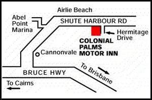 Colonial Palms Motor Inn - Accommodation Whitsundays