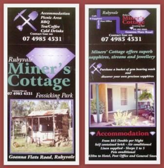 Miner's Cottage - Accommodation Whitsundays