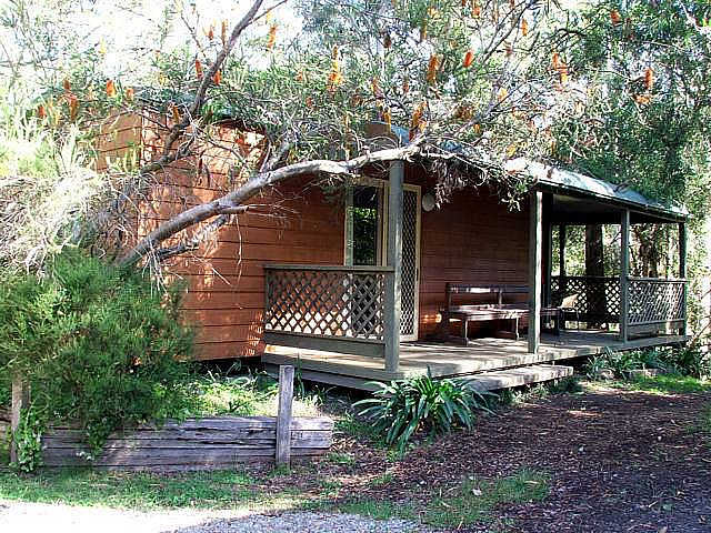 Jervis Bay Cabins  Hidden Creek Real Camping - Accommodation Whitsundays