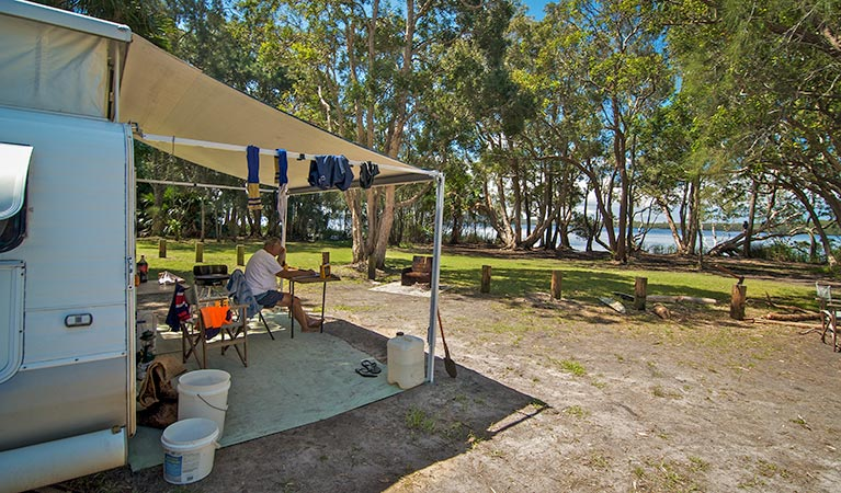 Dees Corner campground - Accommodation Whitsundays