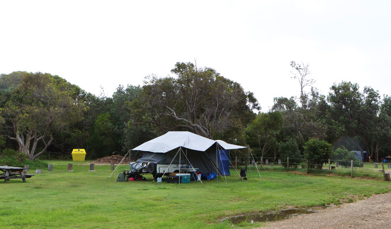 Illaroo campground - Accommodation Whitsundays