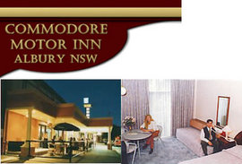 Commodore Motor Inn - Accommodation Whitsundays