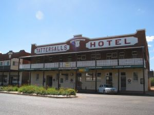 Tattersalls Hotel Baradine - Accommodation Whitsundays