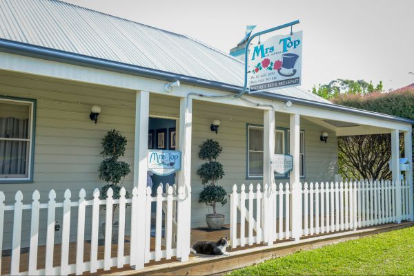 Mrs Top at Milton Bed and Breakfast - Accommodation Whitsundays
