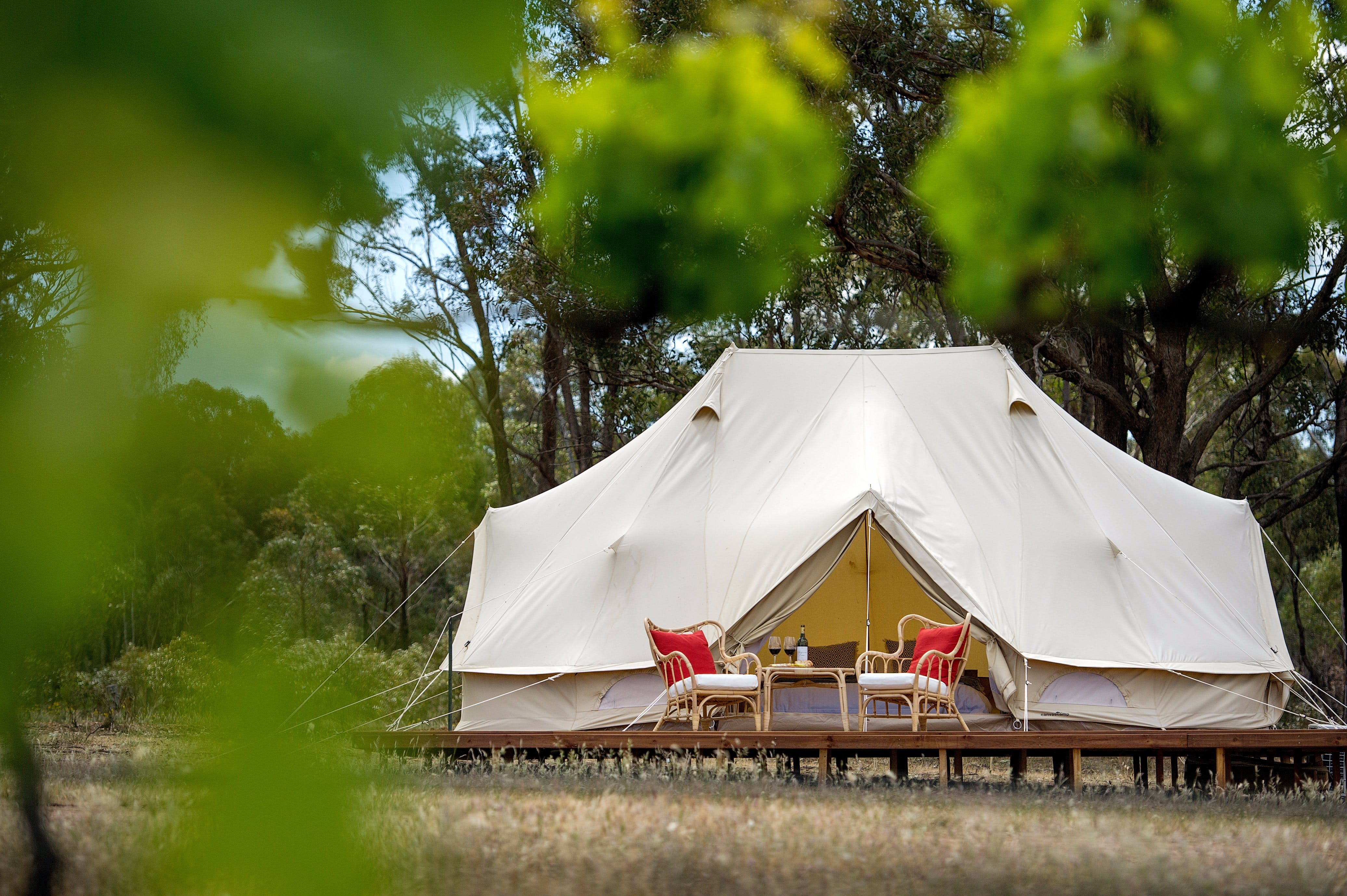 Balgownie Estate Winery Glamping  Accommodation - Accommodation Whitsundays