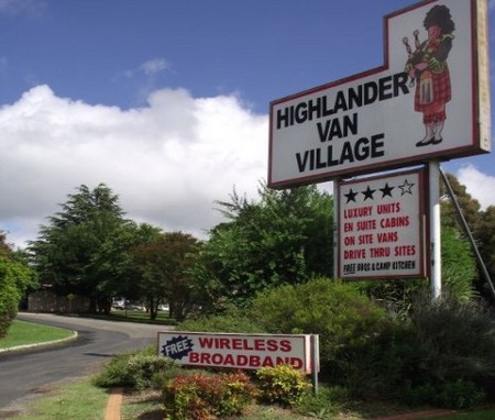 Highlander Van Village - Accommodation Whitsundays