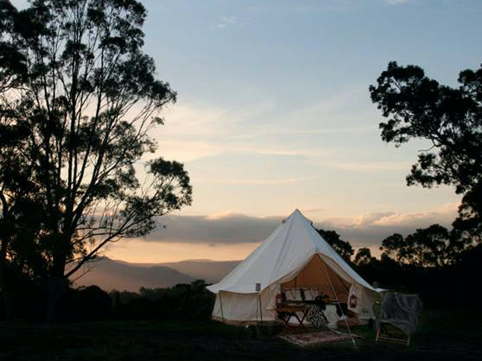 Megalong Valley Glamping - Accommodation Whitsundays