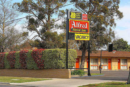 Alfred Motor Inn - Accommodation Whitsundays