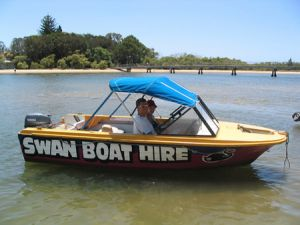 Swan Boat Hire - Accommodation Whitsundays