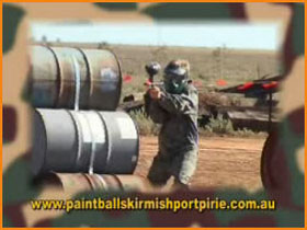 Paint Ball Skirmish Port Pirie - Accommodation Whitsundays