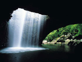 Natural Bridge Springbrook National Park - Accommodation Whitsundays