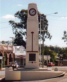 Goomeri War Memorial Clock