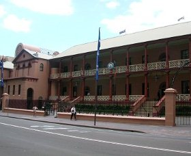 Parliament House - Accommodation Whitsundays