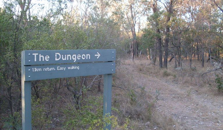 Dungeon lookout - Accommodation Whitsundays