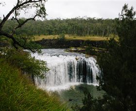Millstream Falls - Accommodation Whitsundays