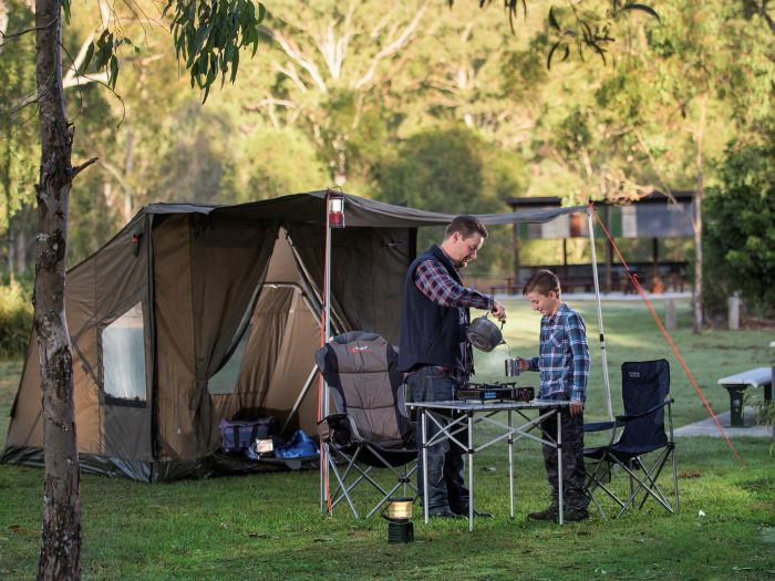 Hardings Paddock Campground - Accommodation Whitsundays