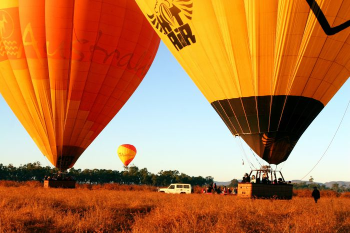 Hot Air Balloon Scenic Rim