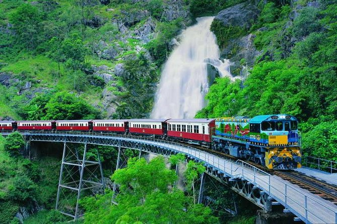 Full-Day Tour with Kuranda Scenic Railway Skyrail Rainforest Cableway and Hartley's Crocodile Adventures from Cairns