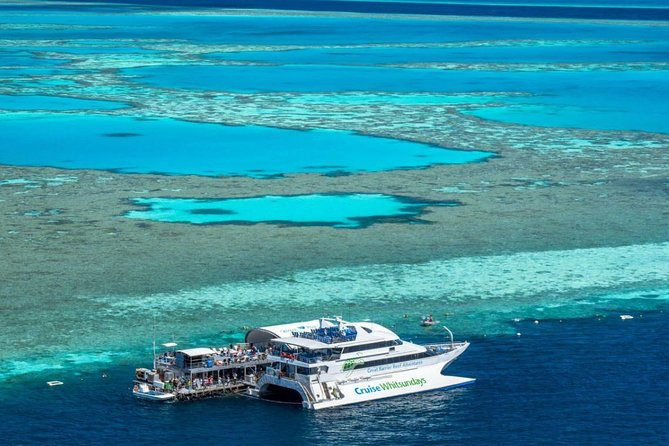 Great Barrier Reef Day Cruise to Reefworld - Accommodation Whitsundays