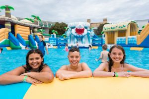 Waterworld Central - Mobile Inflatable Waterpark - Accommodation Whitsundays