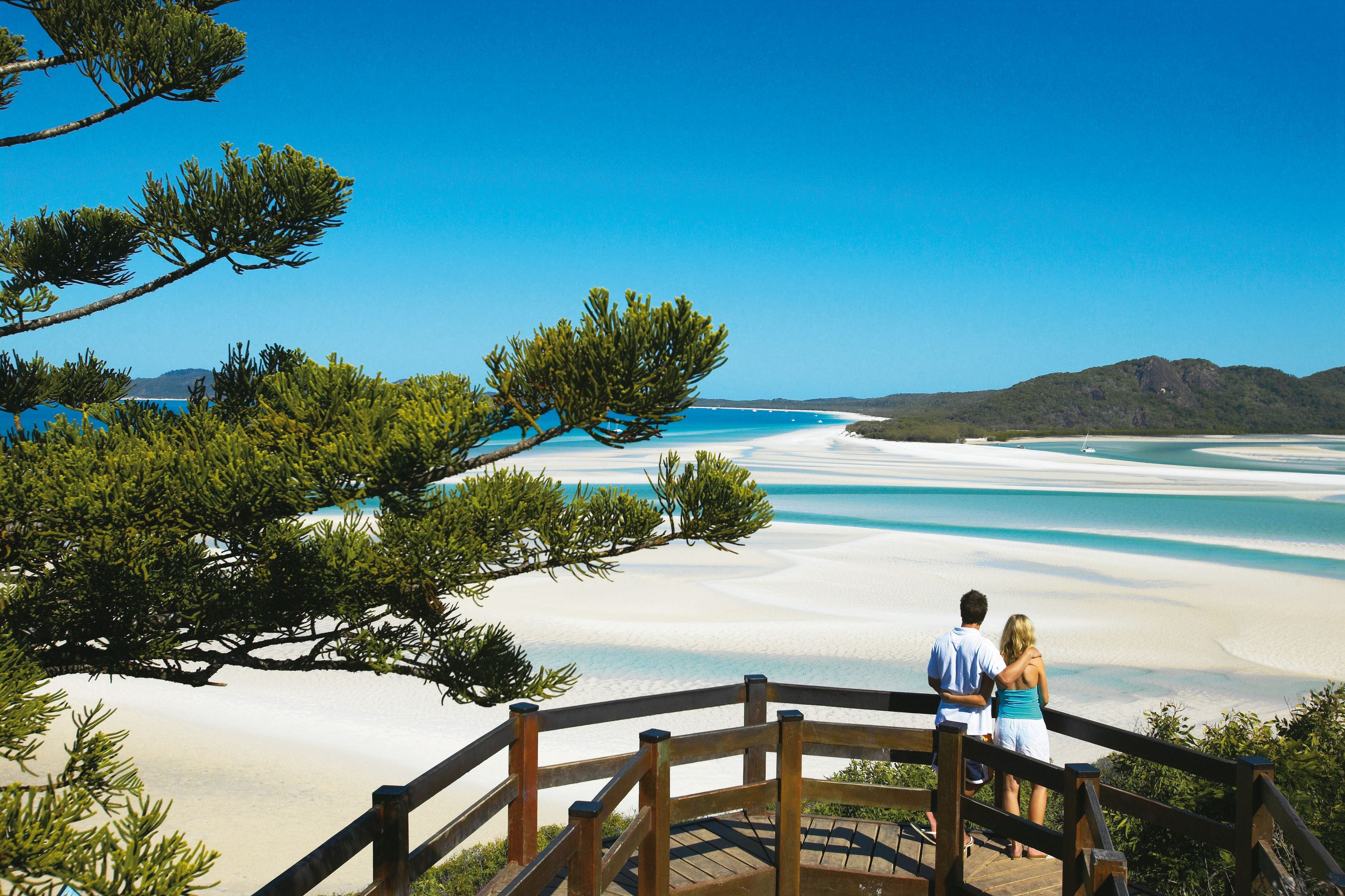 Hill Inlet Lookout Track Whitsunday Islands National Park - Accommodation Whitsundays