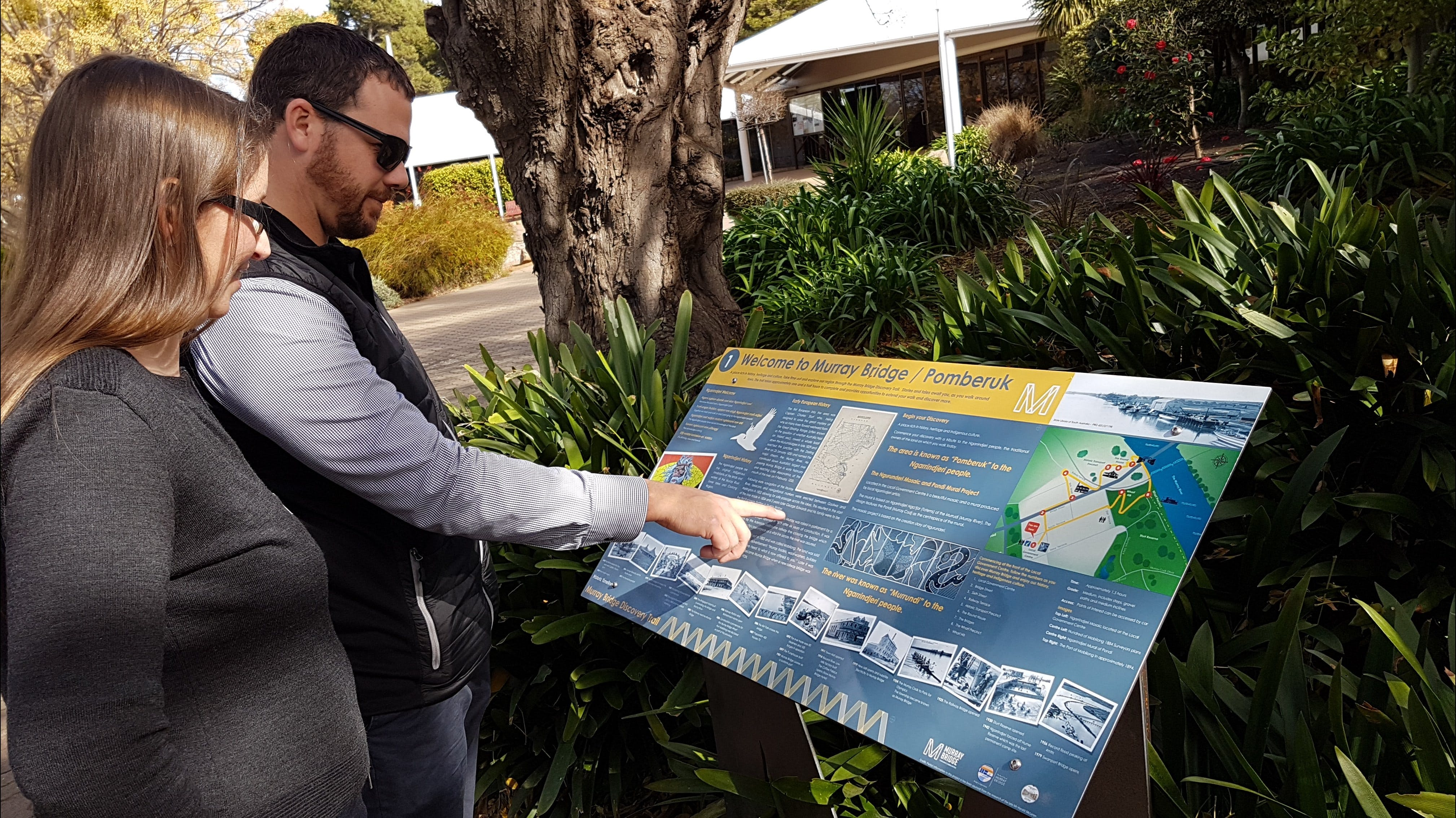 The Murray Bridge Discovery Trail - Accommodation Whitsundays