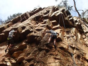 Rock Climbing in Morialta - Accommodation Whitsundays
