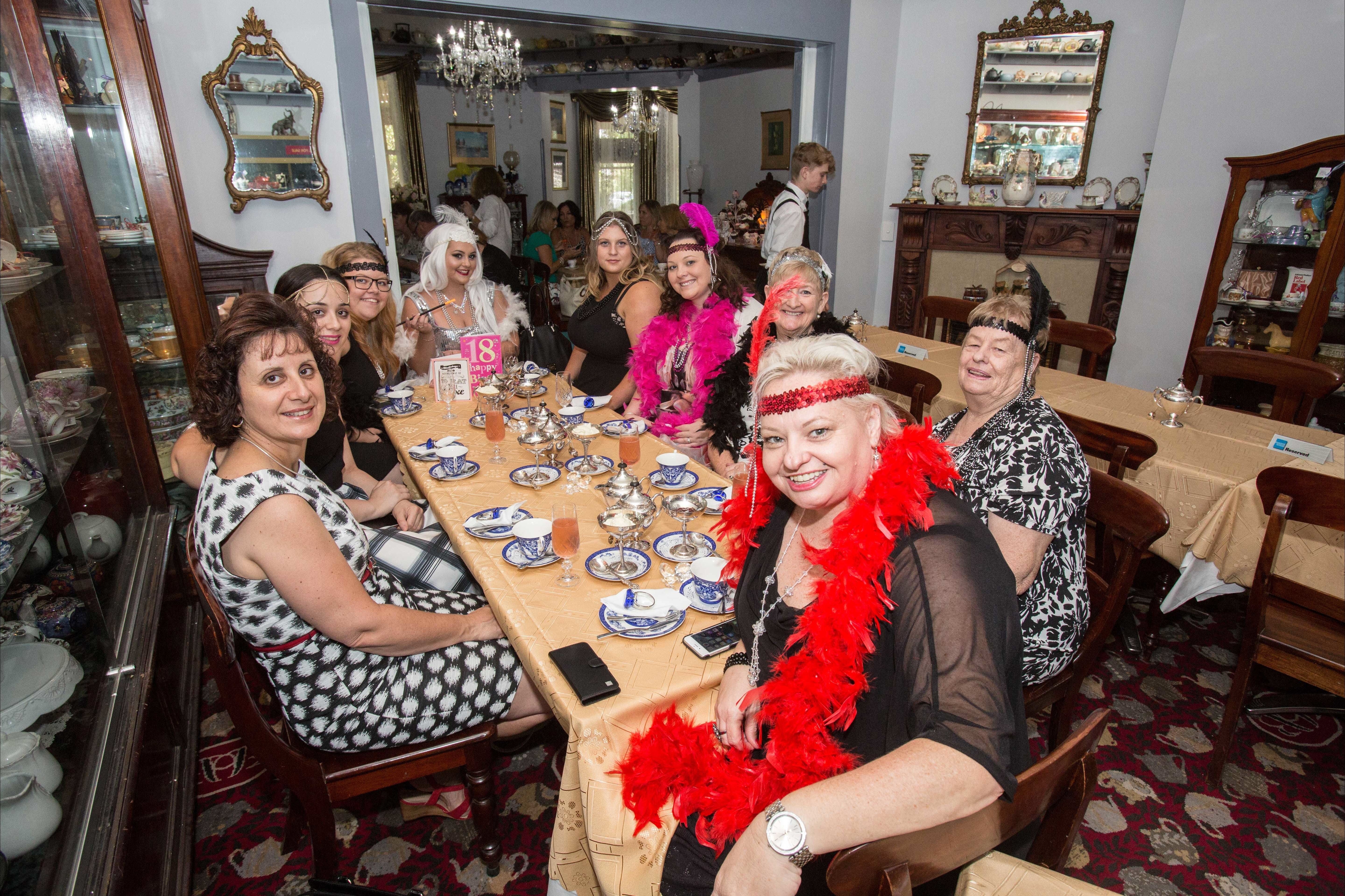 Bygone Beauty's Traditional High Tea Supreme for Good Food Month. - Accommodation Whitsundays