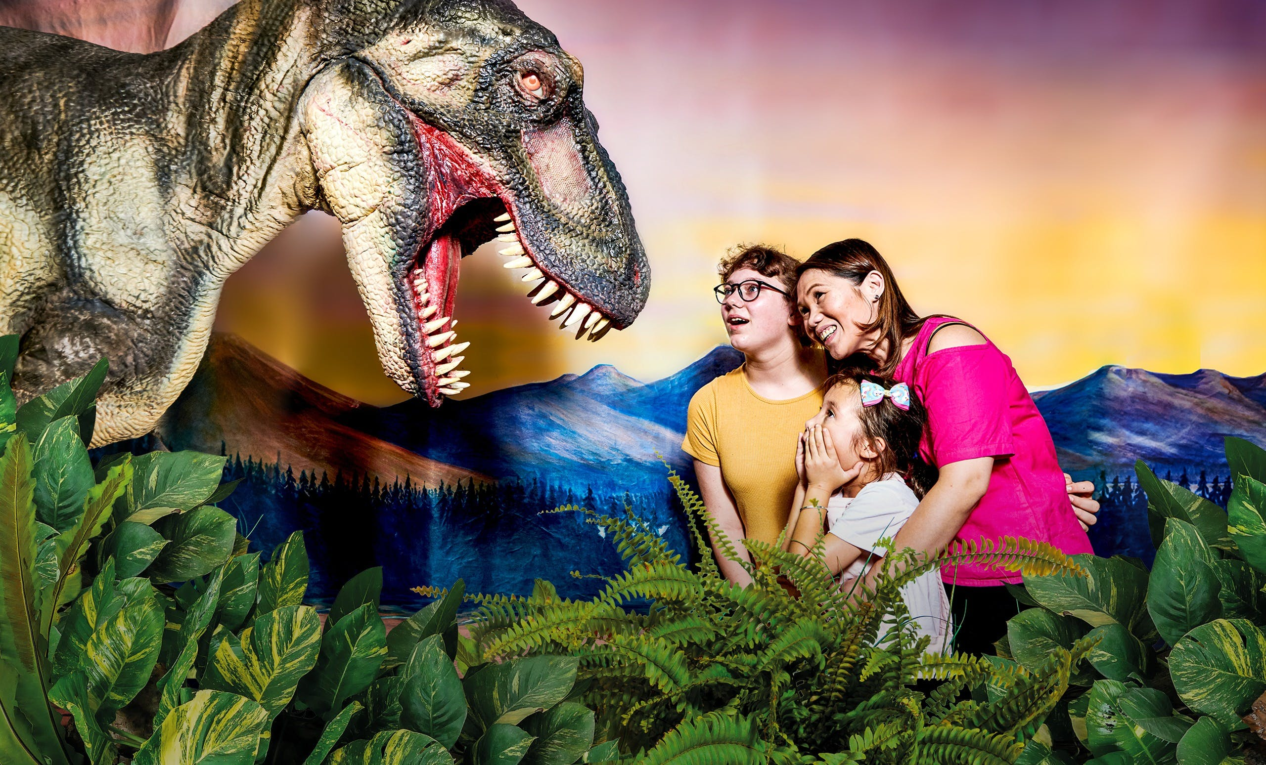 Meet the Dinosaurs at Scitech - Accommodation Whitsundays