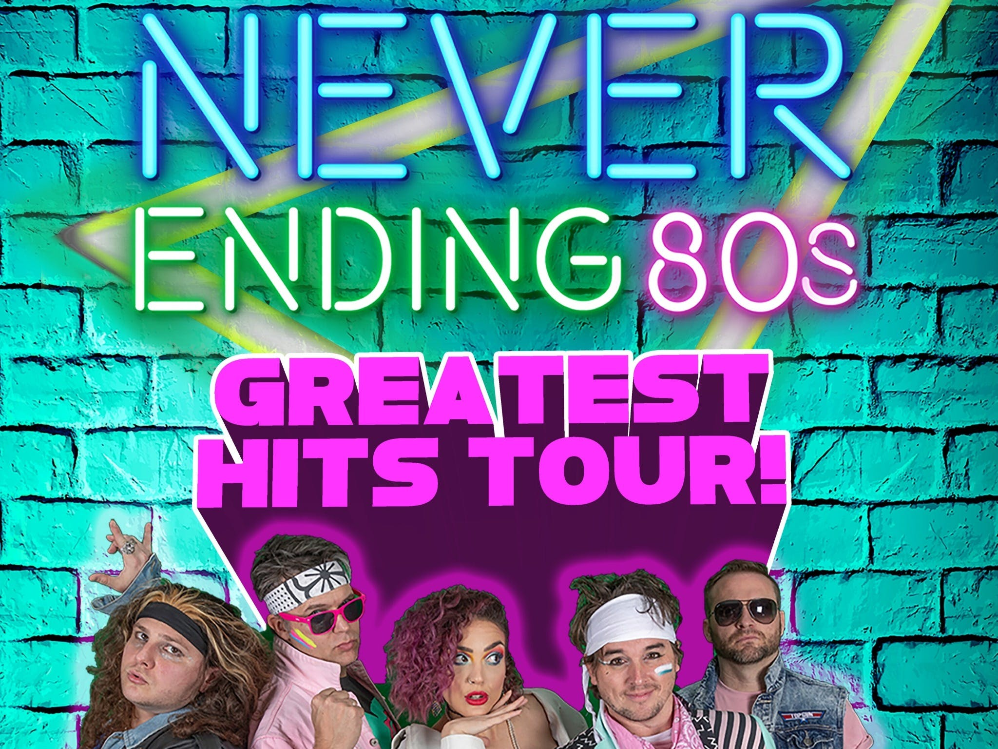 Never Ending 80s - The Greatest Hits Tour - Accommodation Whitsundays
