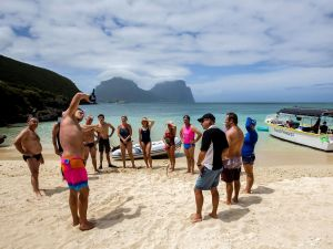 Ocean Swim Week with Trevor Hendy Pinetrees Lord Howe Island - Accommodation Whitsundays