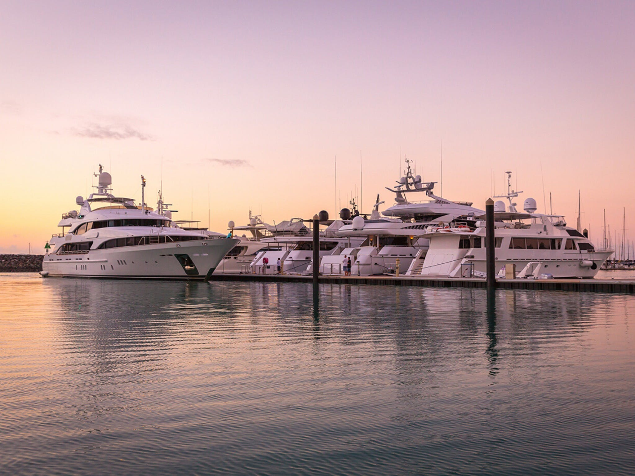 Australian Superyacht Rendezvous - Great Barrier Reef edition - Accommodation Whitsundays