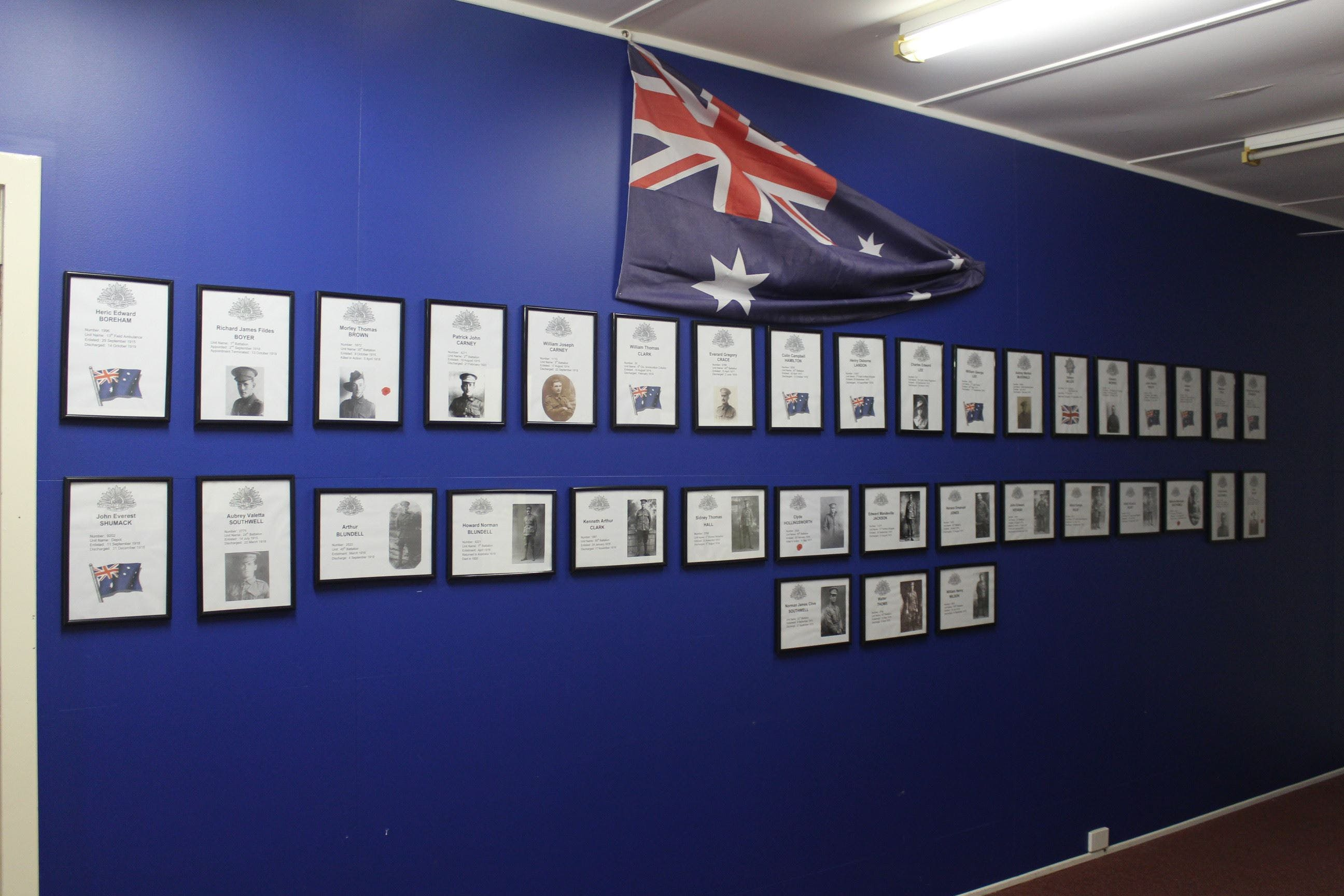 Hall WW1 Commemorative Exhibition - Accommodation Whitsundays