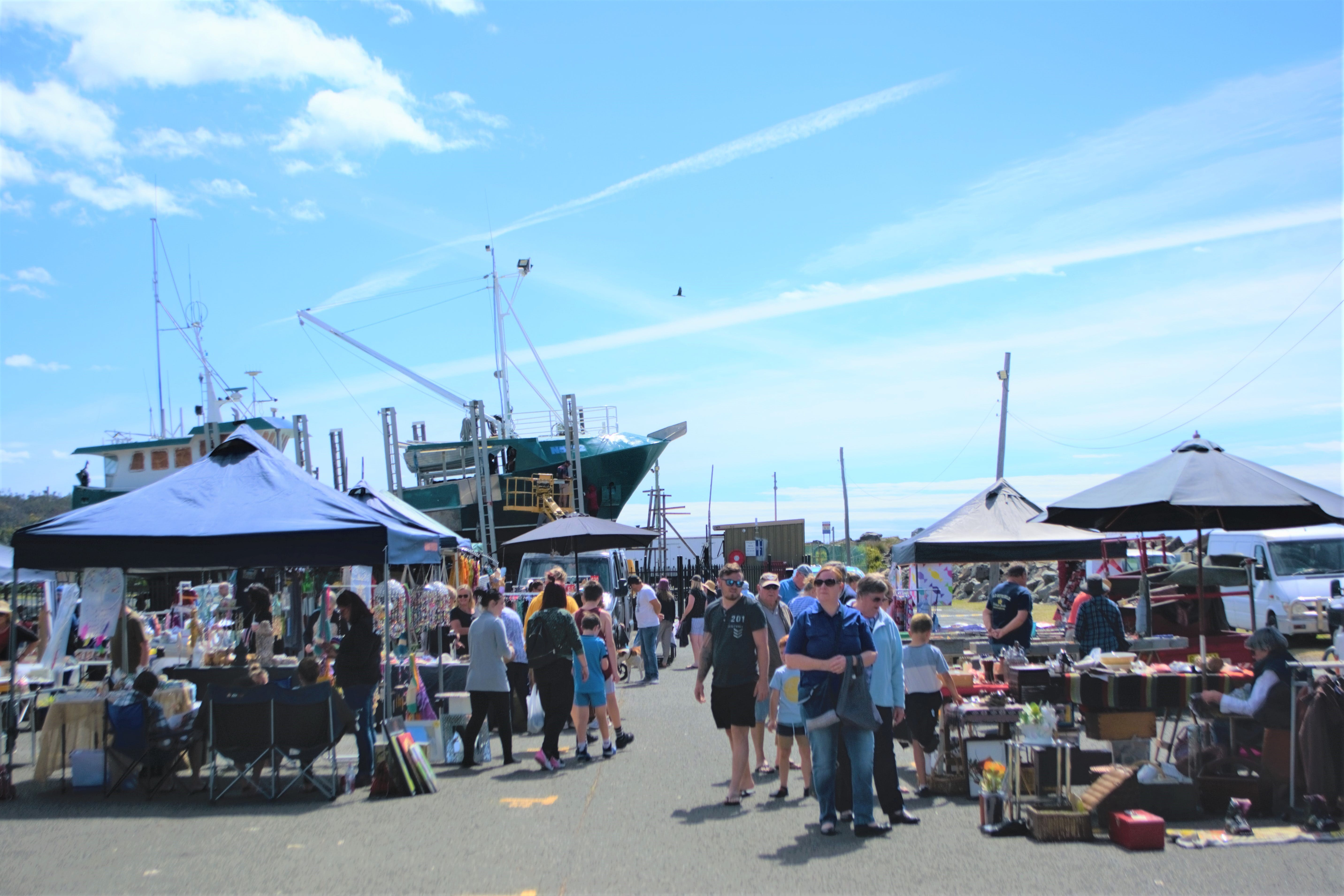 Marine Rescue Ulladulla Wharf Markets - Accommodation Whitsundays