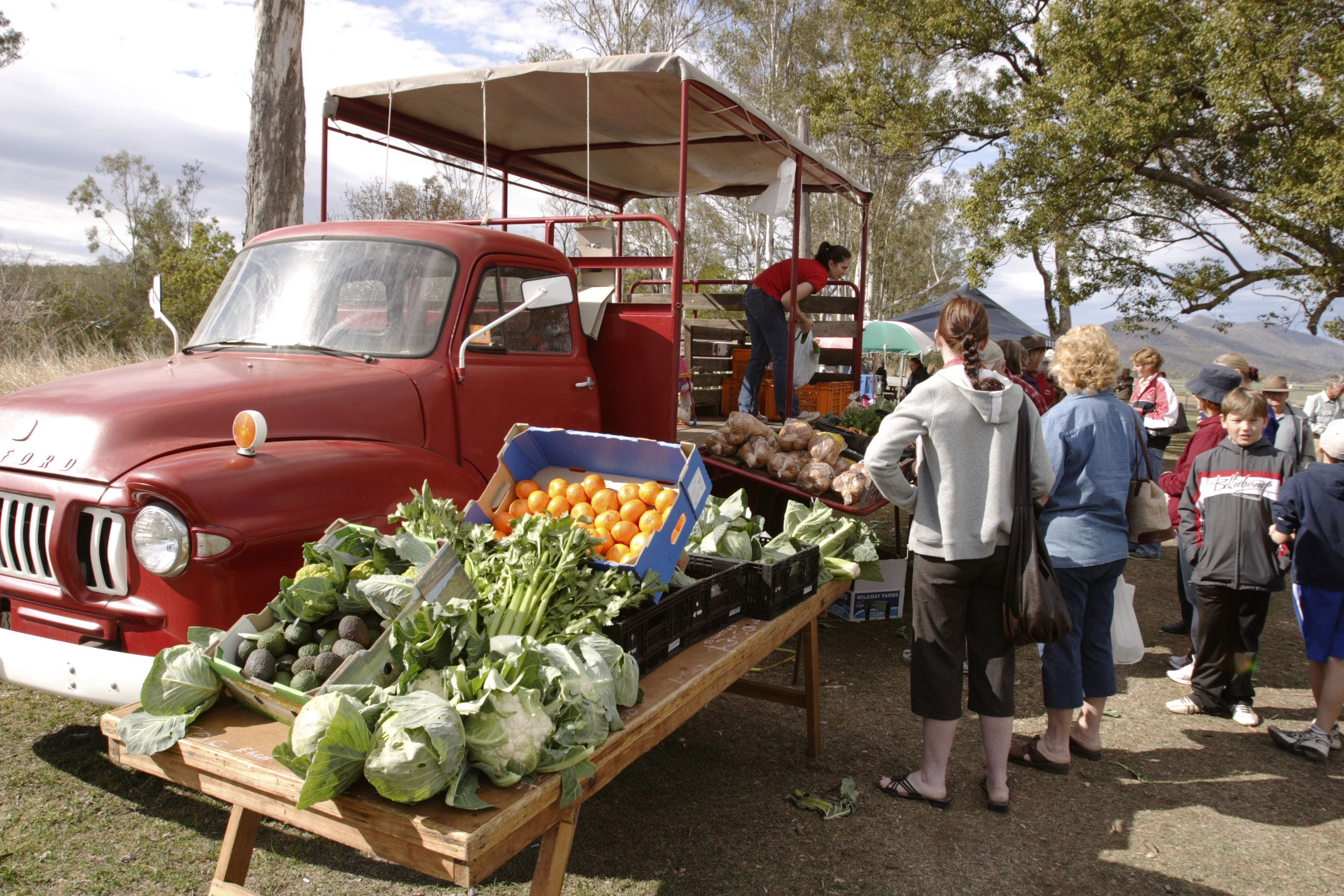Murphys Creek Markets - Accommodation Whitsundays