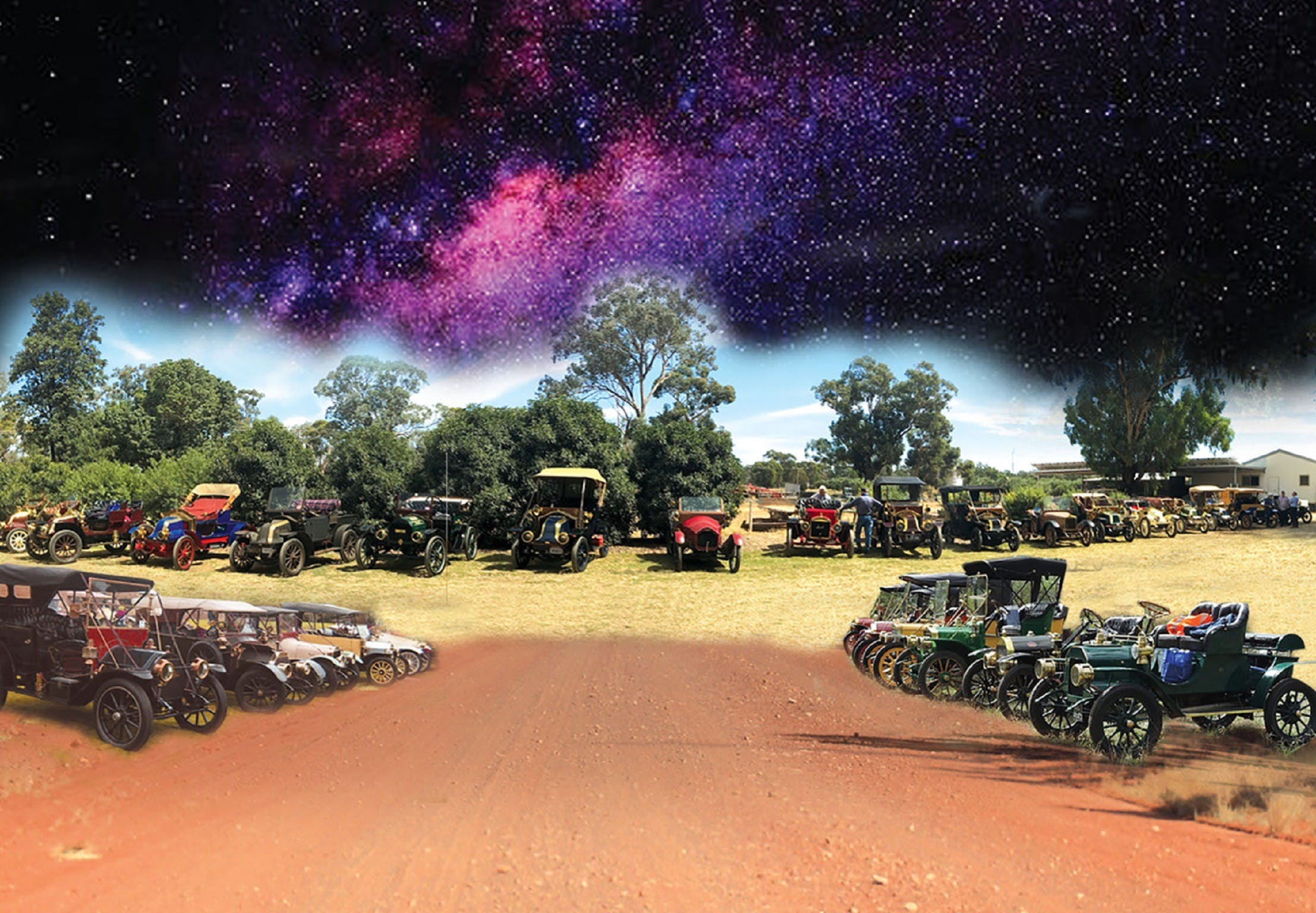 National Veteran 1 and 2 Cylinder Rally - Accommodation Whitsundays