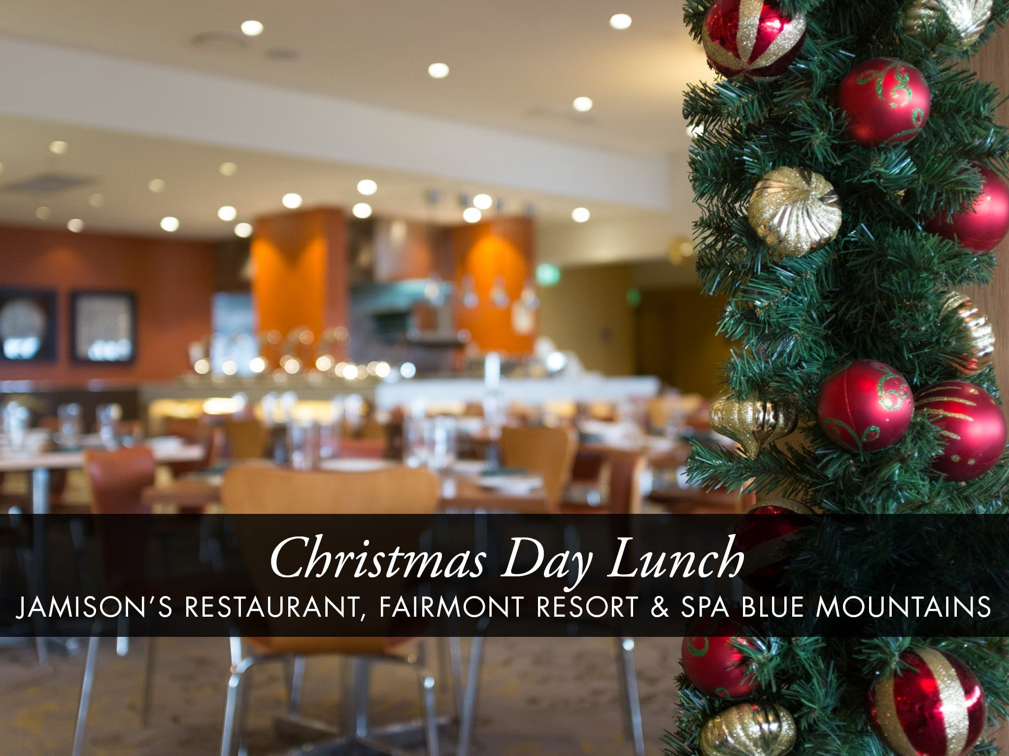 Christmas Day Buffet Lunch at Jamison's Restaurant - Accommodation Whitsundays
