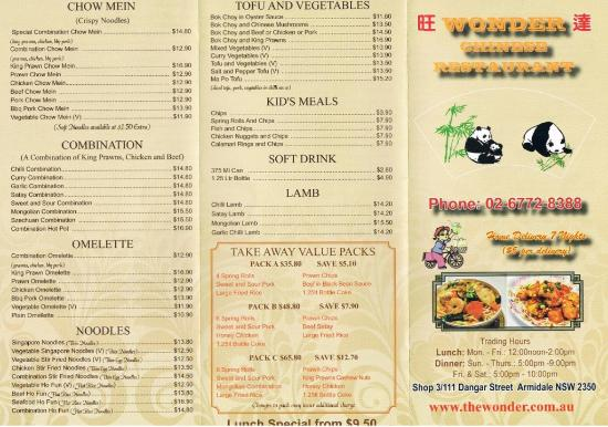 Wonder Chinese Restaurant - Accommodation Whitsundays