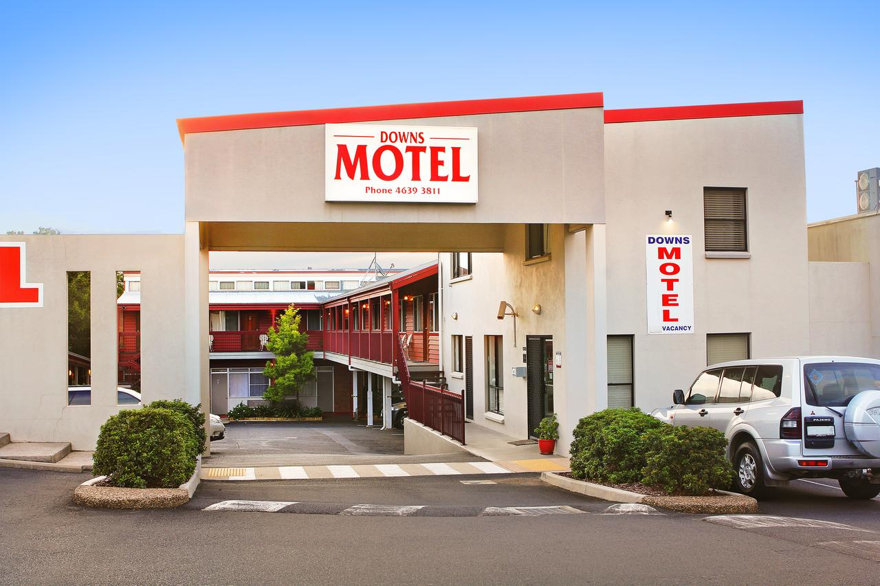 Downs Motel - Accommodation Whitsundays